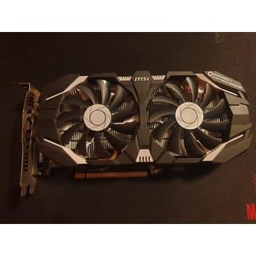 Karta graficzna MSI GeForce GTX 1060 3GT OC 3GB GD