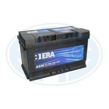 Akumulator 12v 80Ah 760A AGM Start Stop ERA Varta