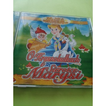 O krasnoludkach i sierotce Marysi audiobook cd