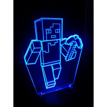 Lampka Nocna Minecraft Prezent Dla Dziecka Gra
