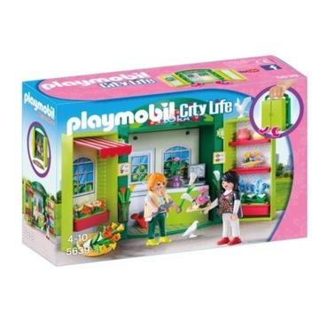 Playmobil City Life Flower Shop Play Box 5639