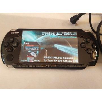 Sony PSP 3004 stan idealny jak nowa 600 gier etui
