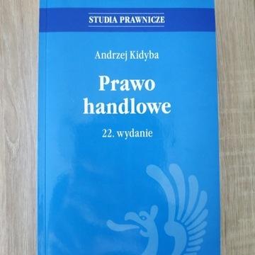 Prawo handlowe. Andrzej Kidyba wyd. 22