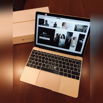 "MacBook 12"" 1,3GHz 8GB 256GB Gold 2015"