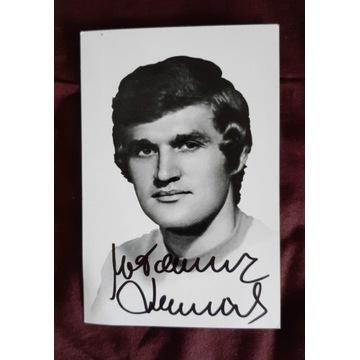 Włodzimierz Lubański - 10x15 oryginalny autograf