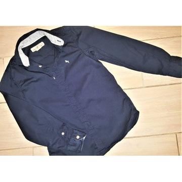 Koszula granatowa H&M rozm. 134
