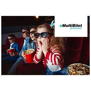 Kod eMultiBilet Premium 2D  Cinema City, Multikino