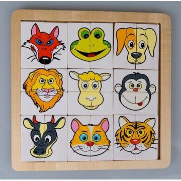 Układanka dziecięca edukacyjna 1+ puzzle