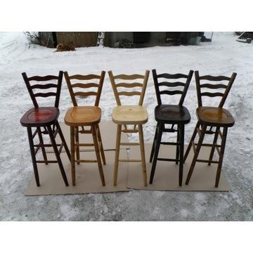 Krzesło barowe drewniane NOWE hoker krzesła hokery