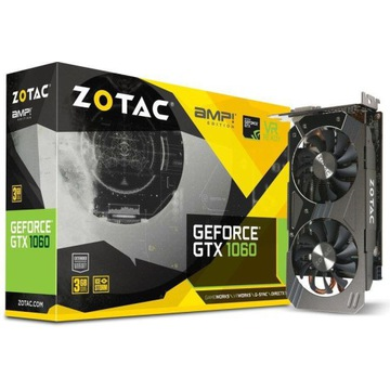 Zotac GeForce GTX 1060 AMP 3GB GDDR5 (192 Bit)