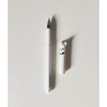 Długopis zmazywalny z gumką niebieski panda