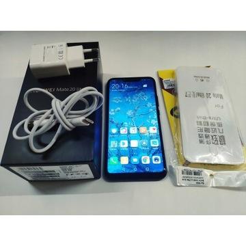 Huawei Mate 20 Lite 4/64GB zestaw etui szkło
