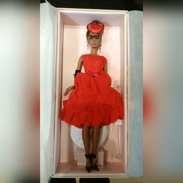 Barbie collector silkstone little red dress nowa