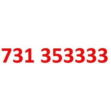 731 353 333 starter play złoty numer 333333