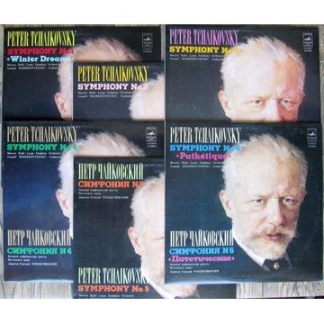 Czajkowski P. – Symfonie, komplet - 6 LP's, NM