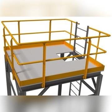 System balustrad przemysłowych