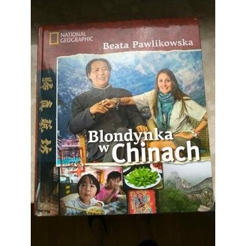 Blondynka w Chinach. Beata Pawlikowska