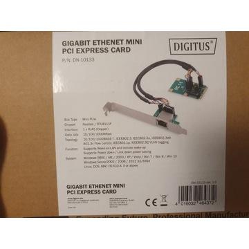 Karta sieciowa Digitus Gigabit Mini PCIe DN-10133