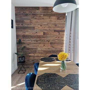 Piękne oryginalne stare drewno DESKA ŚCIENNA loft