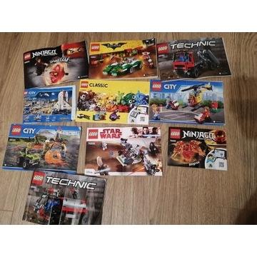 Lego city, technic, ninjago,