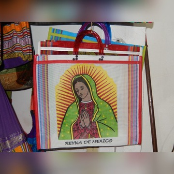 Torba na zakupy - Matka Boska z Gwadelupy Meksyk