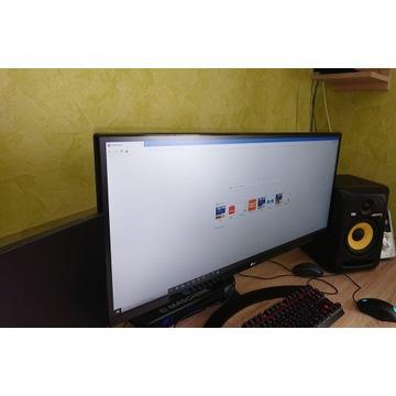 """Monitor LG 34"""" 34UM68-P 21:9 - 2560 x 1080 (UWHD)"""