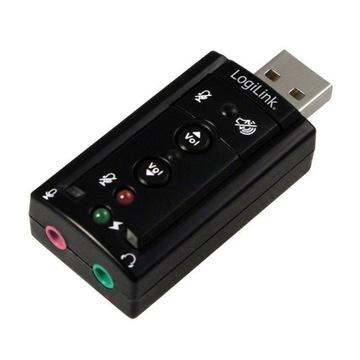 OKAZJA KARTA MUZYCZNA DŹWIĘKOWA USB 7.1