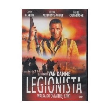 DVD LEGIONISTA (Jean-Claude Van Damme)