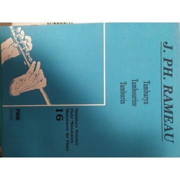 J. Ph. Rameau Tamburyn Miniatury fletowe