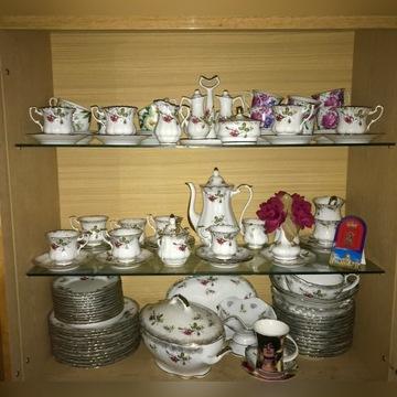 Zestaw obiadowo- herbaciano-kawowy 12 osób