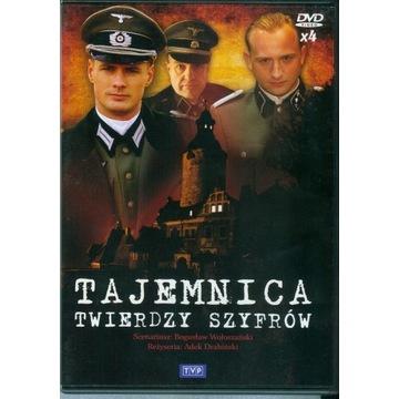 Tajemnica twierdzy szyfrów 4 x DVD 13 odcinków
