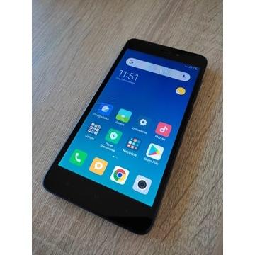 Smartfon Xiaomi Redmi 4A 2GB/32GB SZARY+ 2x etui