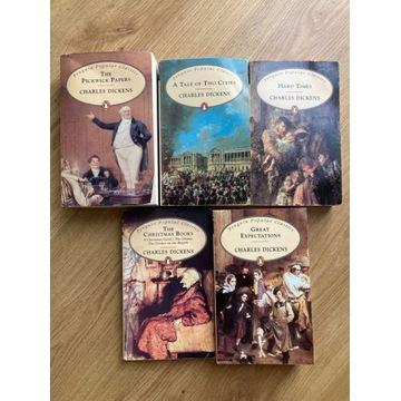 Zbiór dzieł C.Dickensa w oryginale: opowieści wigi