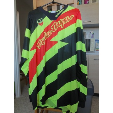 Troy Lee Designs 2016 SE Caution Jersey XL Nowy