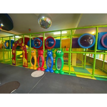 Sala zabaw Małpi Gaj w pełni wyposażona
