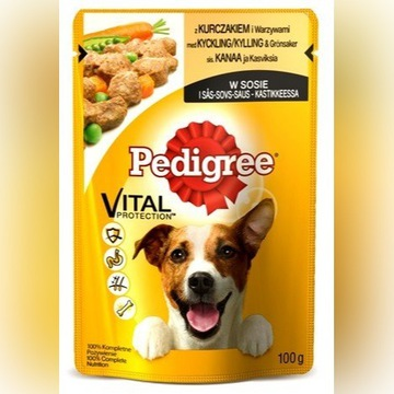 Pedigree Kurczak z warzywami w sosie