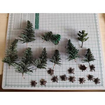 Drzewa - Skala N 1:160