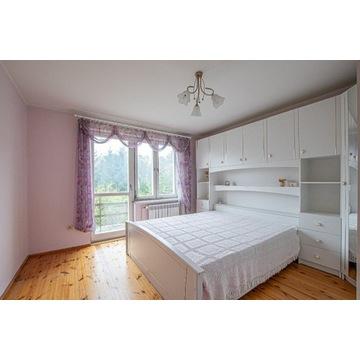 Łóżko do sypialni komplet mebli - biała sypialnia