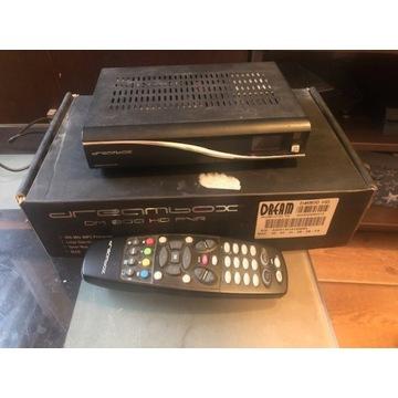 DreamBox DM800HD używany+zasilacz+pilot+pudełko