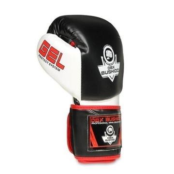Rękawice bokserskie  skóra nat BushidoB-2v11a 12oz