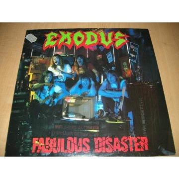 EXODUS - FABULOUS DISASTER  - LP