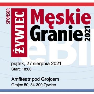 Bilet Męskie Granie Żywiec piątek 27.08