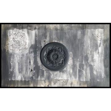 """Obraz na płótnie """"Black Palace"""" 100x170"""
