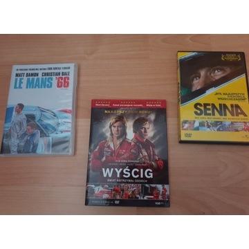 FILMY WYŚCIGOWE Senna / Le Mans 66 / Wyścig / F1