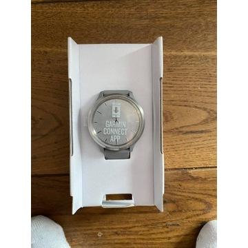 Srebrny Zegarek sportowy GARMIN Vivomove 3