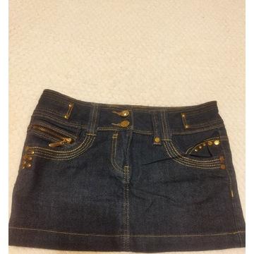 Spódnica dziewczęca jeansowa na  wzrost 146