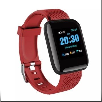 Smartband d13 bluetooth czerwony