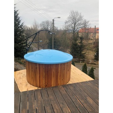 balia jacuzzi hottube gorąca beczka sauna bania
