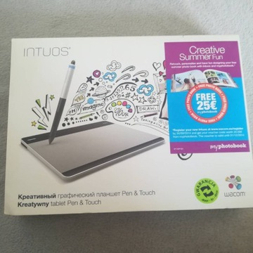 Tablet Graficzny Wacom CTH-480 Stan idealny Intuos