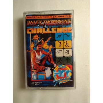 GRA AMSTRAD ROM DALE THOMPSON'S OLYMPIC CHALLENGES